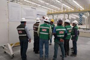 墨西哥COMPAS总装项目安装顺利开展