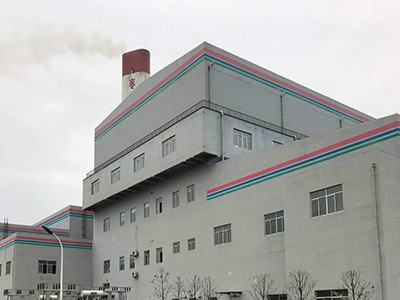 Shandong Zaozhuang incineration power generation pre-sorting project