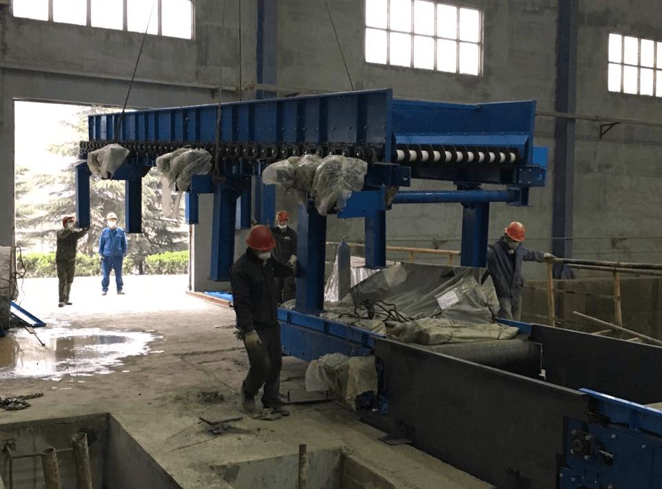 河南省洛阳市洛矿院垃圾输送及筛分系统项目