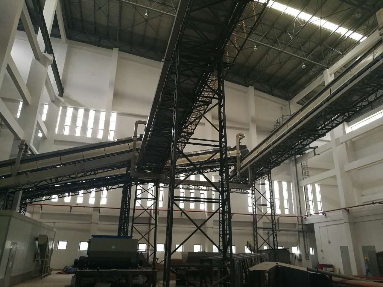 The project of Reculture MSW transport, magnetic sorting and positive wind sifter at Xiamen